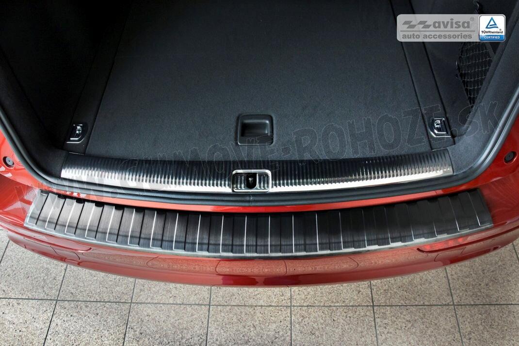 Audi Q Od Grafit Nerezova Lista Zadneho Naraznika