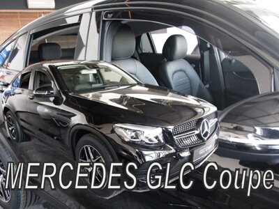 Mercedes GLC Coupe C253 od 2017 (so zadnými) - deflektory Heko